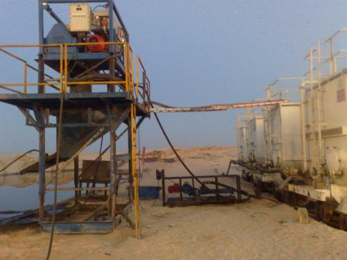 UNDER BALANCED DRILLING  CENTRIFUGE RIG-UP